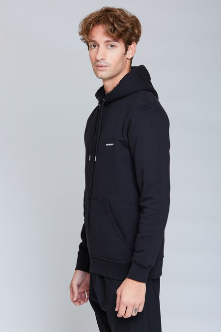 Ozon Boutique Stick Print Hoodie - Black