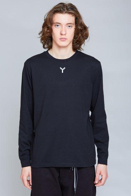 ANT/BODIES Y Embroidery Longsleeve - Black