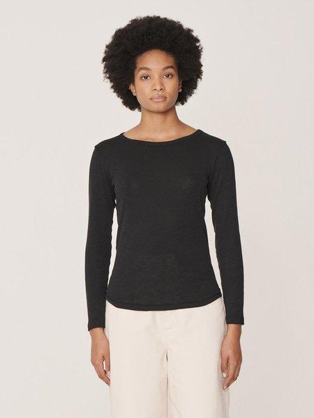 YMC Charlotte Long Sleeve T-Shirt - Black
