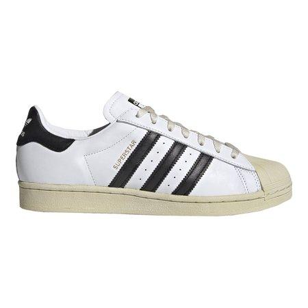 Adidas SUPERSTAR SHOES - CLOUD WHITE/CORE BLACK/BLUE