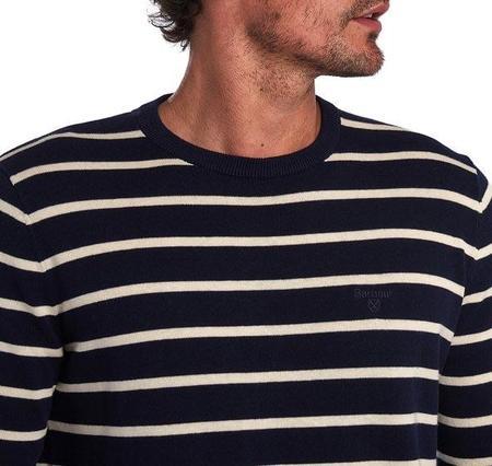 Barbour Bight Stripe Sweater - Navy