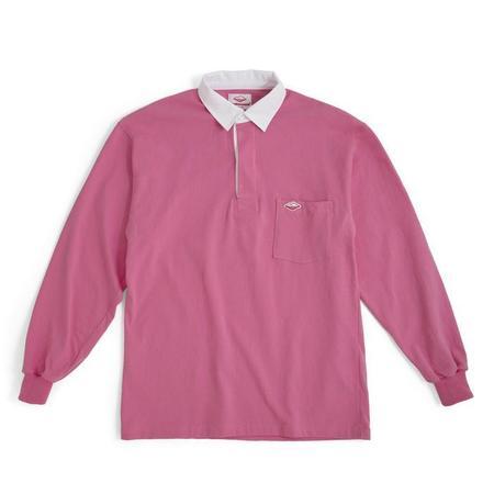 Battenwear  6oz Jersey Pocket Rugby Shirt - Pink