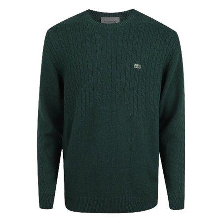 Lacoste Pullover Wool Sweater - Vert Green