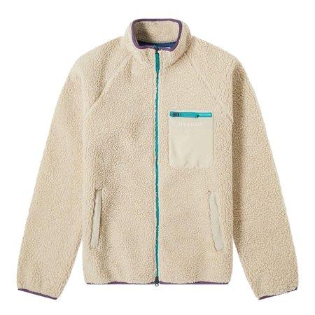 Manastash Mt. Gorilla Fleece Retro Pile jacket - Off White
