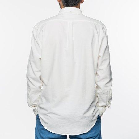 PORTUGUESE FLANNEL Belavista L/S Shirt - Off White
