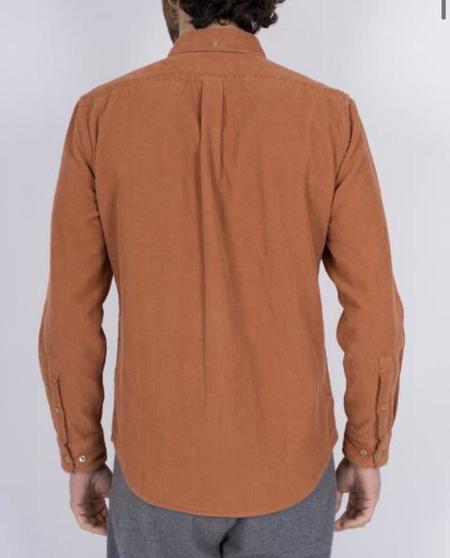 Portuguese Flannel LOBO Corduroy Shirt - Brick Red