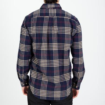 PORTUGUESE FLANNEL Tomar Shirt - Blue/Cream/red