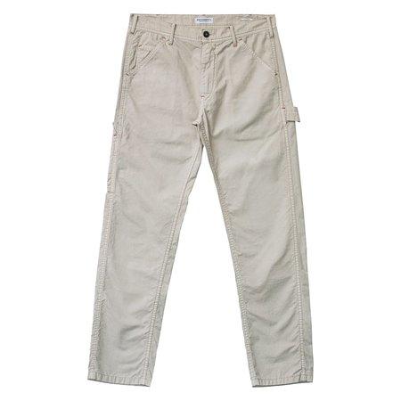 PRESIDENT'S Labor Fine Canvas Trousers - Mastic