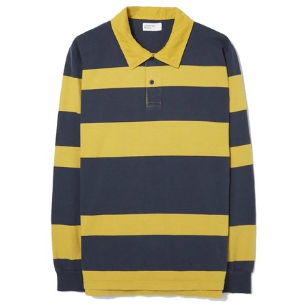 Universal Works Heavy Jersey Rugby Shirt - Sunshine