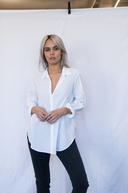 Xirena Cotton Voile Button Down - White
