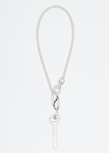 Martine Ali Silver Zander Key Chocker - Silver