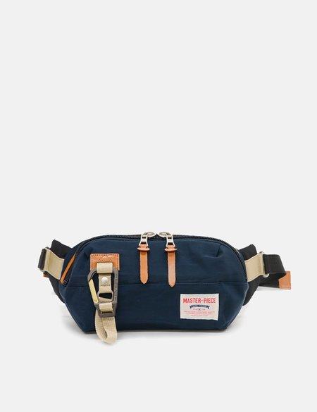 Master-Piece Link Waist Bag - Navy Blue