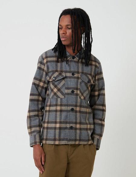 Bhode  Check Over Shirt - Brown
