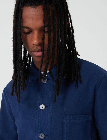 Bhode Chore Workwear Jacket - Navy Blue