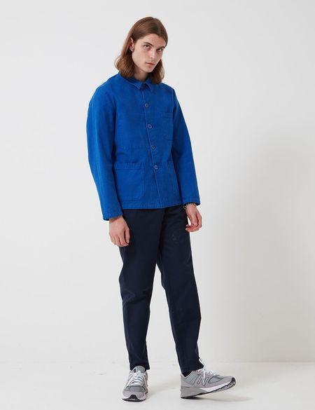 Bhode Chore Workwear Jacket - Buggati Blue