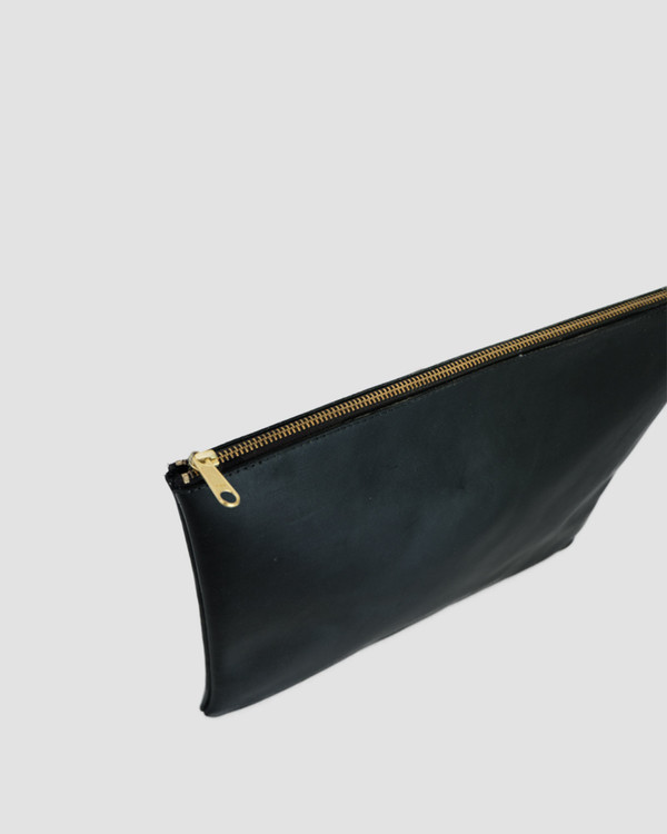esby leather ESBY PORTFOLIO - BLACK