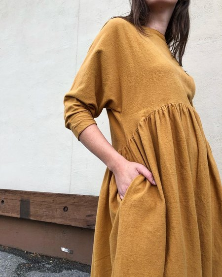 Black Crane Tradi Dress - Khaki