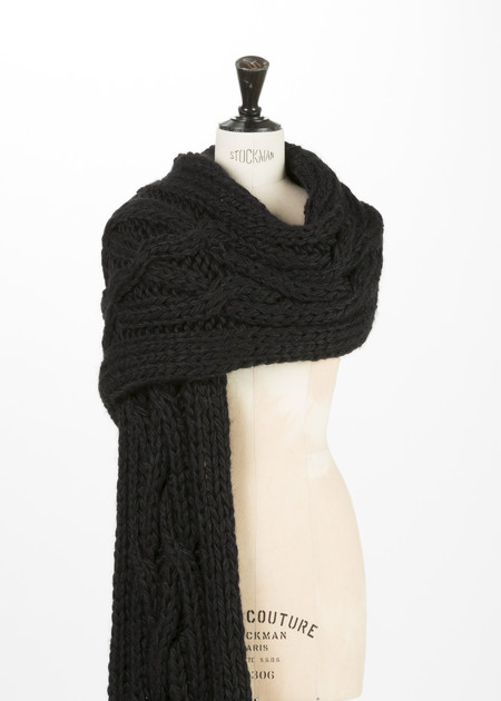 Rundholz Knit Braid Scarf