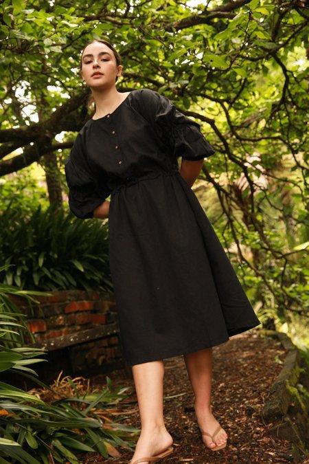 Mane Project Reversible Isla Dress - Black