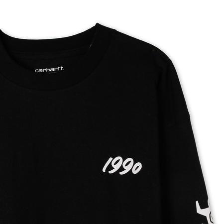 Carhartt WIP x Relevant Parties Ninja Tune Long Sleeve T-shirt - Black