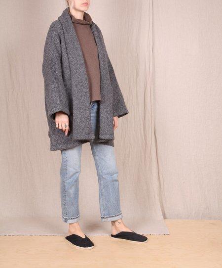 Atelier Delphine Haori Sweater Coat - Charcoal