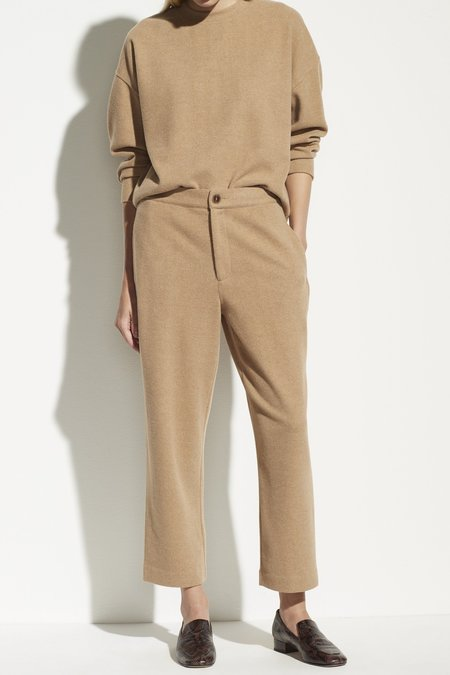 VINCE Tapered Pant - Heather Camel
