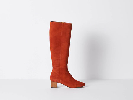 Vanessa Bruno Rust Suede Boot