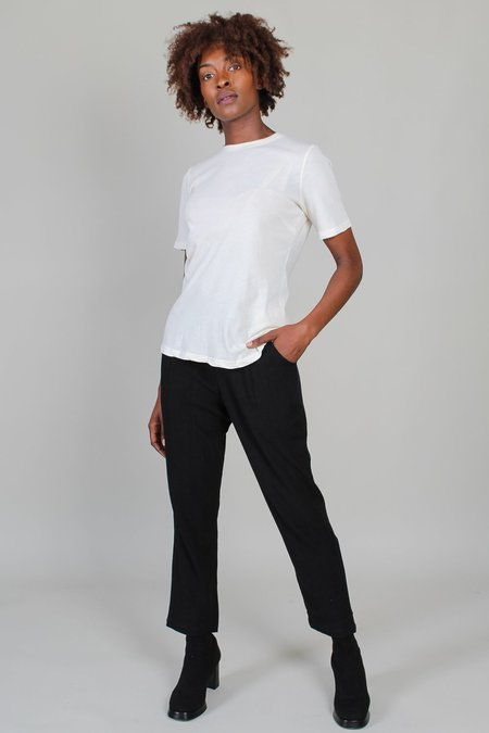 Raquel Allegra Slim Tee - Dirty White