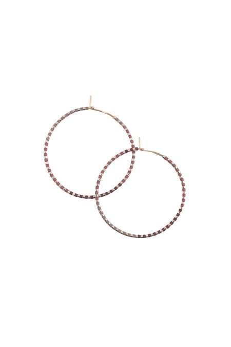 abacus row Progressions Large Hoops - Limited Edition Silver