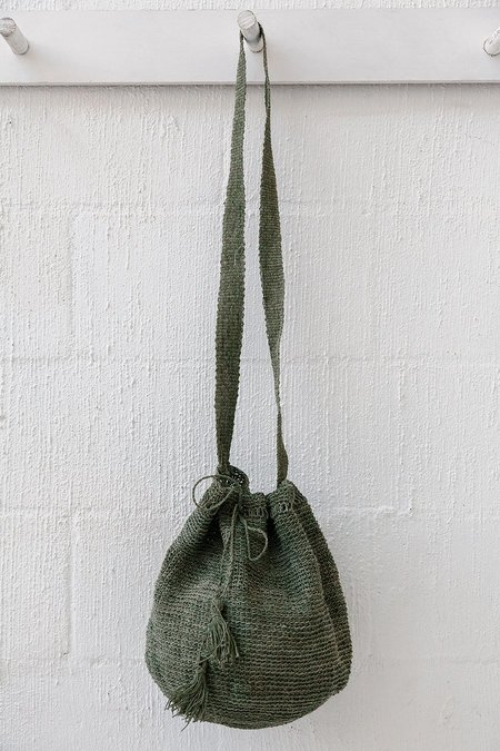 Pampa Litoral #0518 Woven Bag - Green