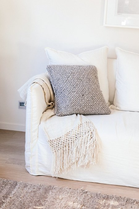 Pampa Monte #7 Cushion - Grey
