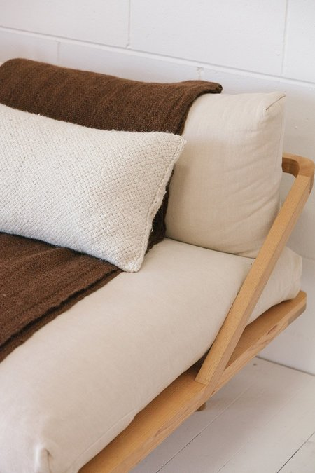 Pampa Monte Lumbar Cushion #6 - Natural