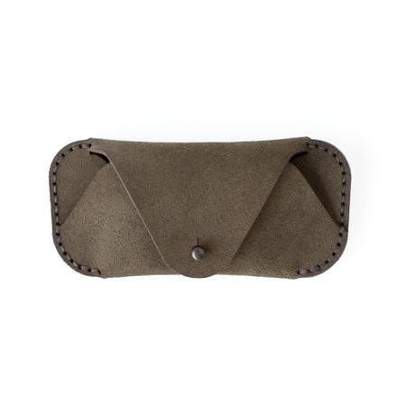 UNISEX MAKR Eyewear Sleeve case - Shale Horween