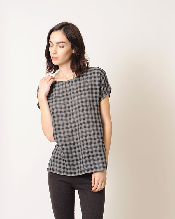 Conifer Woven Tee