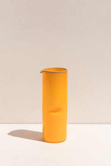Drew Spangenberg Thumb Print Jug - Yolk