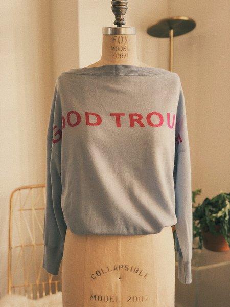 Petit Mioche Organic Merino Wool Sweater - Good Trouble