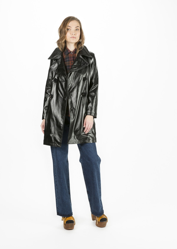 Simon Miller Bowa Leather Coat