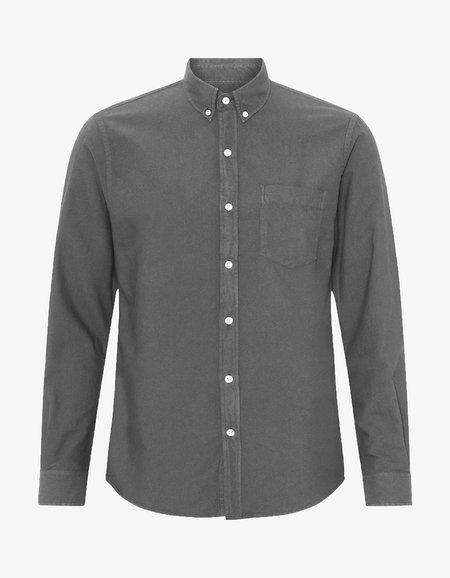 Colorful Standard Organic Button Down Shirt - Storm Grey