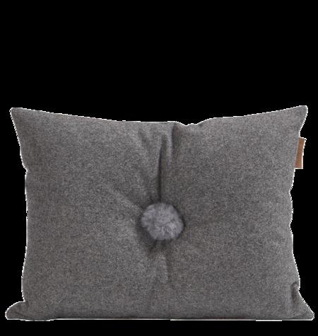 Shepherd of Sweden Anita Wool Pillow - Granite