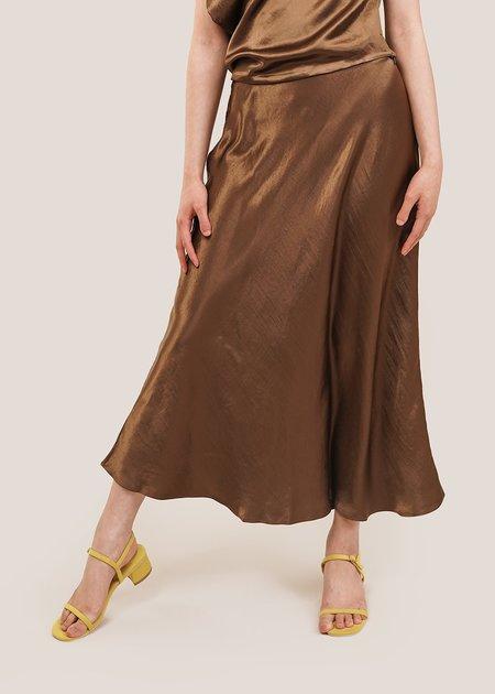 Shaina Mote Naropa Skirt - Shiny Olive