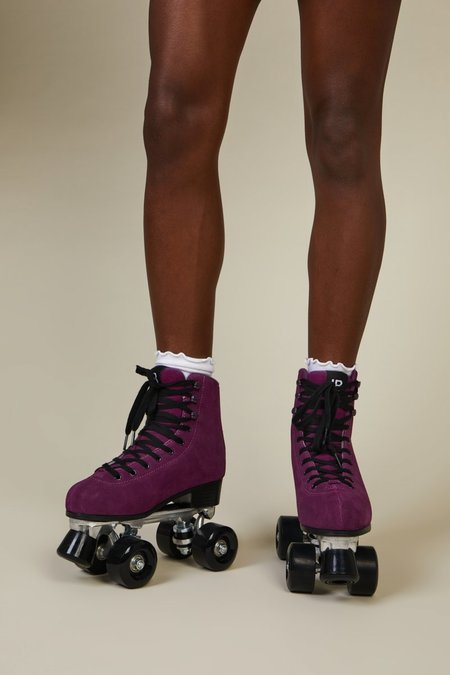 """""""INTENTIONALLY __________."""" RINK SKATE - Electric Plum"""