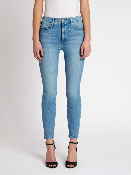 Mother Denim The High Waisted Looker Jean - Sworn To Secrecy