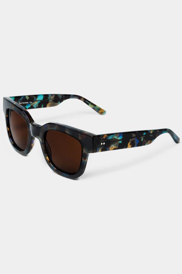 Sun Buddies Acetate Liv Sunglasses - Chipsy Blue