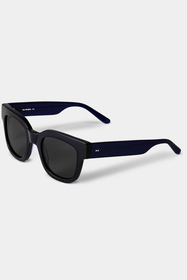 Sun Buddies Acetate Liv Sunglasses - Very Dark Blue