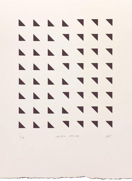 HILLMAN PABLO STUDIO SERIGRAPH SEVEN WHOLE