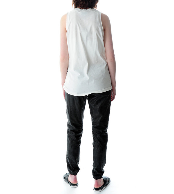 3.1 Phillip Lim Abstract Print Cut-in Tank
