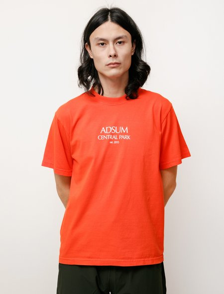 Adsum Central Park Tee - Red