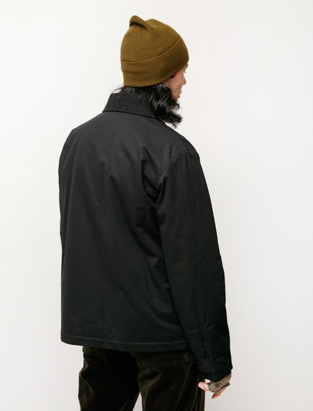Margaret Howell MHL Deck Dry Cotton Jacket - Black