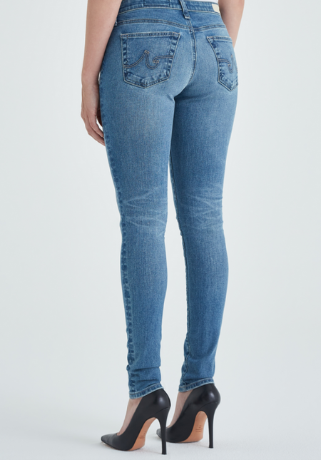 AG Jeans Legging Ankle denim - 16 Years Composure Destructed