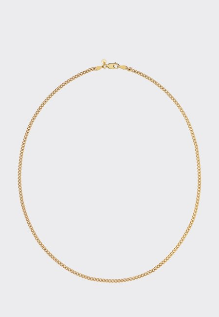 Meadowlark 45cm Curb Chain Necklace - Gold
